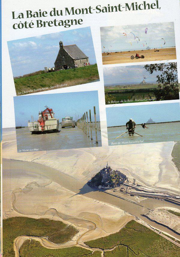 Baie du mont saint michel c t bretagne - Office du tourisme du mont saint michel ...
